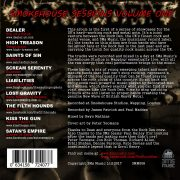 The Smokehouse Sessions – Volume 1 (back cover)